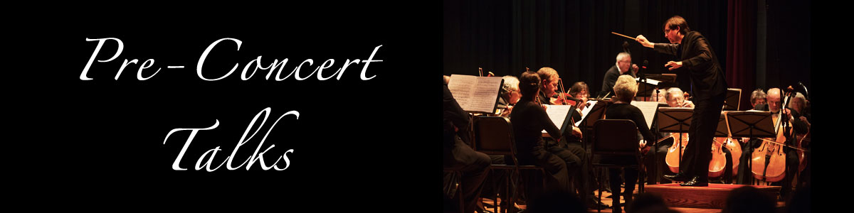 Join Music Director Michael Repper's Talks Before Each Performance
