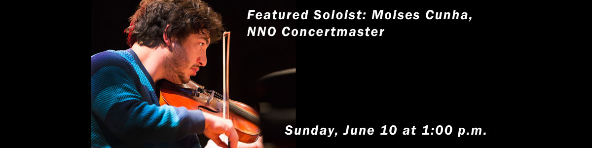 NNO Concertmaster Featured Soloist in Williamsburg