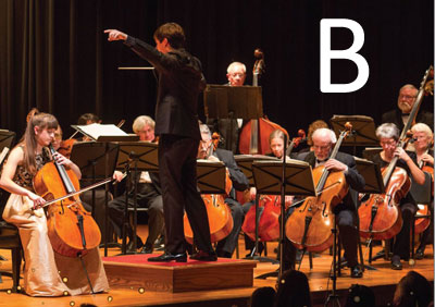 Season Ticket (Includes Three Concerts) - Option B, with Winter Concert on 3/23/19 at Northumberland High School