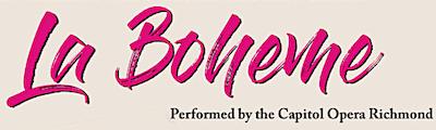 La Boheme - Sunday, February 17, 2019, at 4 p.m. at Good Luck Cellars, 1025 Good Luck Road, Kilmarnock